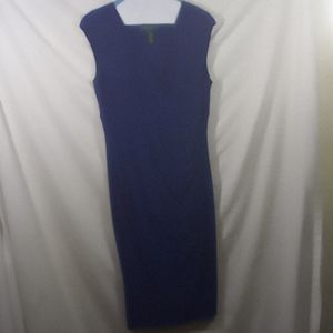 Women Ralph Lauren dress size 6 blue